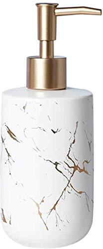 Aokiper Seifenspender Spender Nachfüllbarer Seifendosierer Pumpe für Flüssigseife und Lotion aus hochwertiger Keramik, für Badezimmer, Küchen, Hotel, Restaurant/öffentlicher Ort