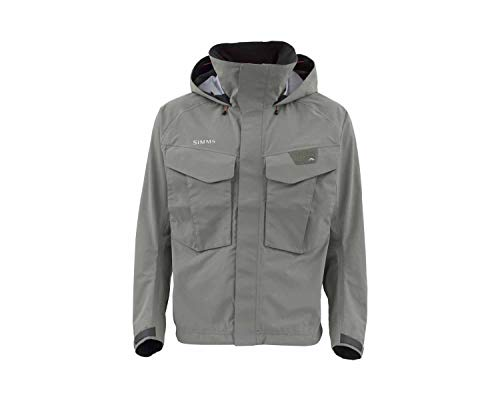 Simms Mens Freestone Wading Jacket, Waterproof Fishing Coat