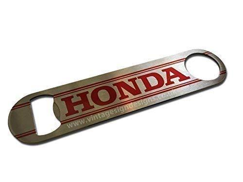 Vintage Sign Designs Qualité Honda Barre Lame / Décapsuleur