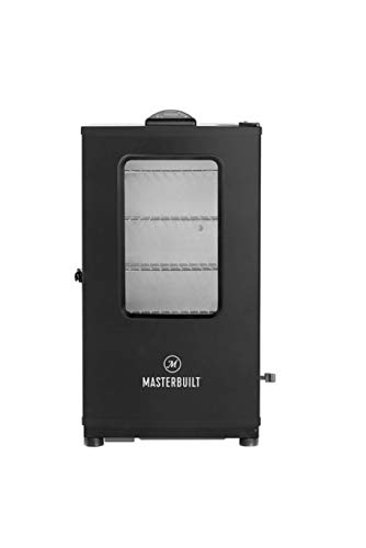 "Masterbuilt MB20071619 Mes 140s Digital Electric Smoker, 40"" Black + Window"