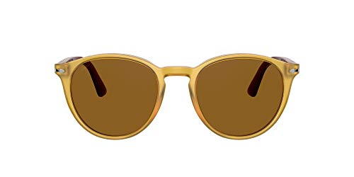 Persol Gafas de Sol GALLERIA '900 PO 3152S Yellow/Brown 49/20/145 hombre