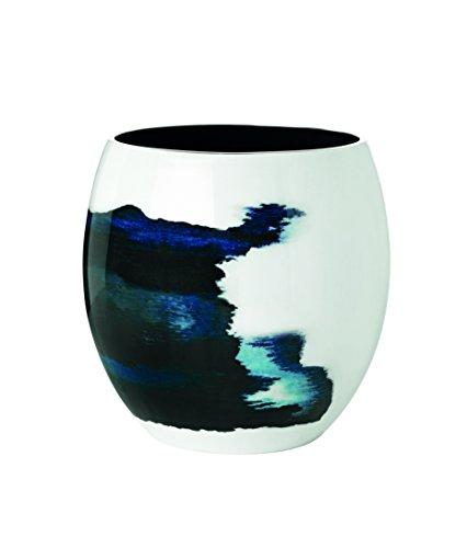 Stelton Stockholm Aquatic Vase, Bleu/Blanc/Argent, Grande