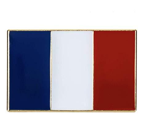 Patch Nation Grote Frankrijk Franse Vlag Metalen Pin Badge Broche