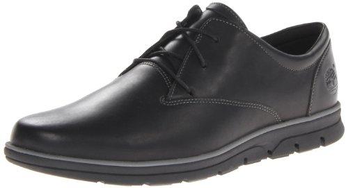 Timberland Bradstreet PT Oxford, Zapatillas Bajas para Hombre, Negro (Black Full Grain), 43.5 EU