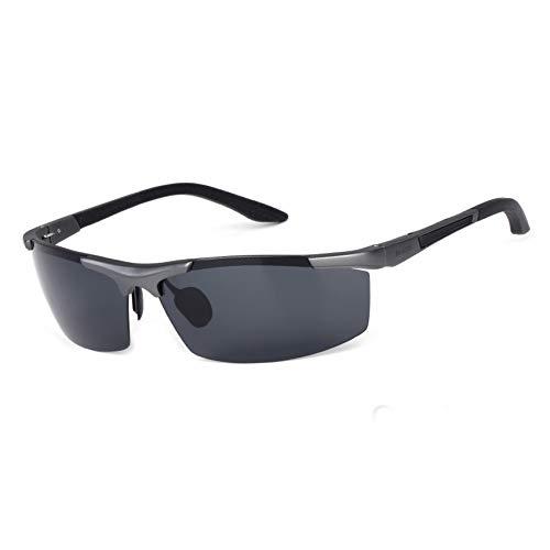 YOURSN Gafas De Sol De Aluminio Y Magnesio PolarizadasHombres Mujeres Diseñador Deportivo Gafas De Sol Al Aire Libre Gafas Gafas De Sol Hombres