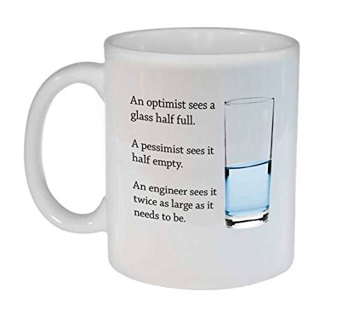Engineers Glass of Water Coffee or Tea Mug