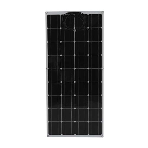 SWEEPID 130Watt 18Volt Flexible Solarpanel Solarmodul Monokristallin Solarzelle Photovoltaik Solar Ladegerät für RV, Boot, Kabine, Zelt, Auto