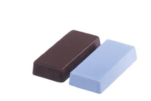 Bosch 2609256558 Pâtes à polir pour Prépolissage et lustrage Pâte à polir marron et pâte à polir bleu
