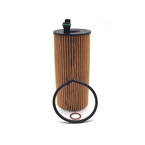 SDUIXCV Filtro De Aceite del Motor Ajuste para BMW Mini Cooper 1 2 3 4 5 6 7 ER X1 X3 X4 X5 F20 F21 E90 F30 F32 F36 F10 F01 11428507683 0412WA010 HU6004X