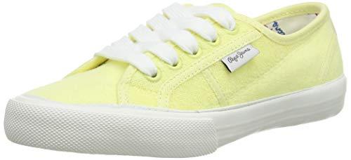 Pepe Jeans Baker Towel, Zapatillas Niños, Amarillo Fresh Yellow 022, 34 EU