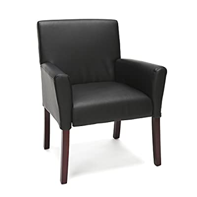 Essentials Executive Guest Chair - Upholstered Reception Chair, Tan
