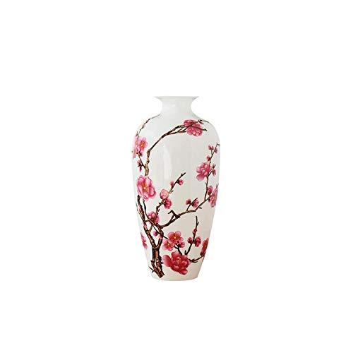 Lou Chapman antike Porzellan porcelainal chinesische Vase Kaolin Blumenvase Hauptdekor handgemachte Pflaumenblüten Vasen, Pflaumenblüte
