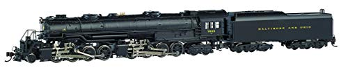 Bachmann Trains - EM-1 2-8-8-4 DCC Sound Value Equipped Steam Locomotive - B&O #7623 - Later Small Dome - N Scale (80853)