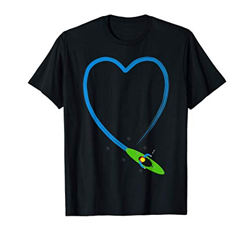 Kanu, Kajak, Kanadier und Paddeln, Ich liebe paddeln. T-Shirt