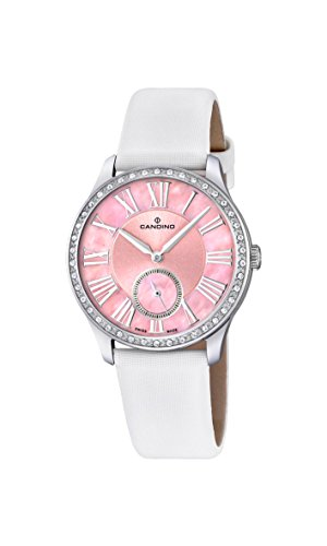 Candino Damen Analog Quarz Uhr mit Leder Armband C4596/2