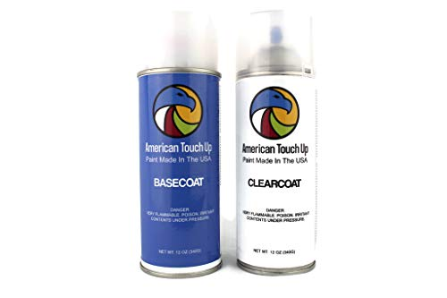 Genuine OEM Automotive Touch Up Spray Paint (Basecoat/Clearcoat) for Honda - Select Your Color (NH-797M Modern Steel Metallic)