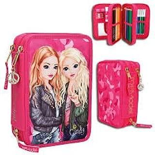 TopModel 3 de estuche con compartimentos Christy y Candy Ondas, color rosa, embalaje original llenas estuche Estuche *, *: Amazon.es: Salud y cuidado personal