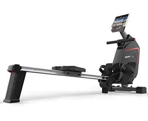 SportPlus SP-MR-009-iE Máquina de Remo para Uso Doméstico, Peso Máx. 150 kg
