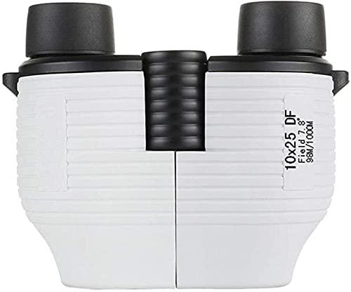 dh-9 Prismáticos 10x25 para niños, prismáticos compactos portátiles con prismáticos de Enfoque automático BAK4 Prism FMC Lens Prismáticos para Adultos