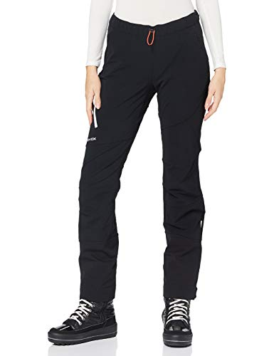 ORTOVOX Womens Col Becchei Snow Pants, Black Raven, M