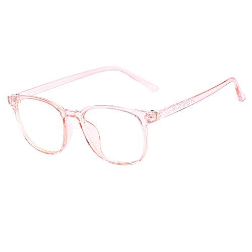 Trisee Brille Ohne SehstäRke, Klassisch Brille Ohne SehstäRke Damen Blaulichtfilter Brille Hippie Brille Runde Brille Nerd Brille Retro Sonnenbrille Herren Sonnenbrille Damen Ultra Light