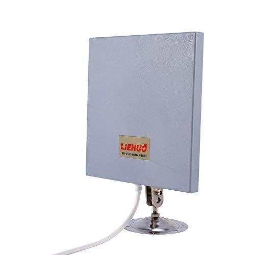 Cocoarm antenne Panel 2.4GHz Outdoor Indoor muurbeugel Panel Antenna 14 Dbi voor WiFi Signal Booster Wei?