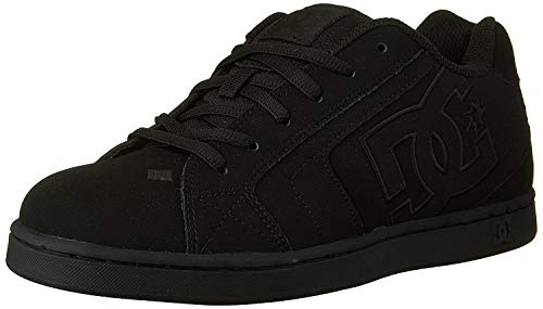 DC Shoes Net, Herren Sneakers, Schwarz (BLACK/BLACK/BLACK), 46 EU