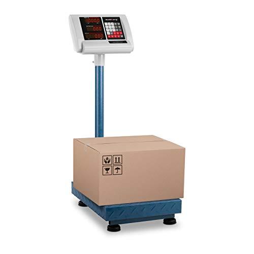 Steinberg Balance Plateforme Professionnelle Industrielle Pèse-Colis SBS-PF-100/10B (100 kg, Précision ±10 g, Autonomie 10 H, 40x30 Cm, LED)