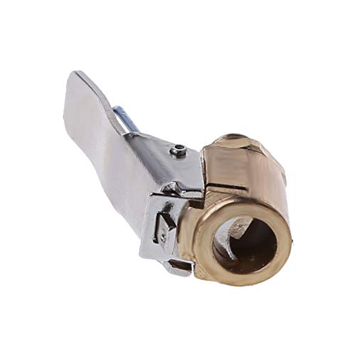RK-HYTQWR 1 Pieza para Coche, latón, 8 mm, neumático, Rueda, neumático, inflador, Bomba, válvula, Abrazadera, Conector, Adaptador, Estilo de Coche, válvula de neumático, Presta
