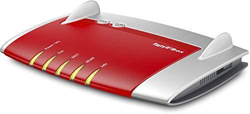 AVM FRITZ!Box 7430 (VDSL-/ADSL2+, WLAN N, 450 MBit/s (2,4 GHz), TK-Anlage für Voice over IP mit DECT-Basis, Mediaserver) geeignet für Deutschland (Generalüberholt)