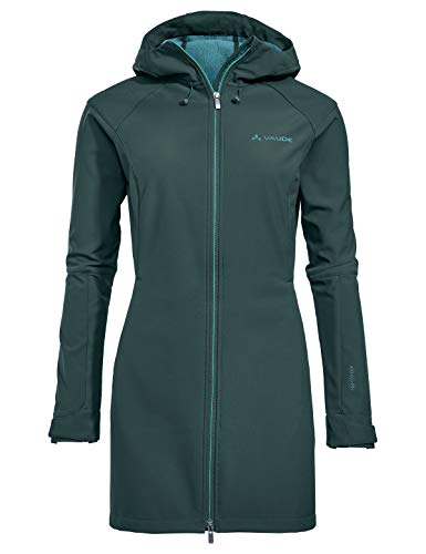 VAUDE Damen Skomer Softshell Coat, grün(quarz), 44