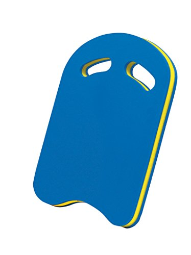 BecoTecno Pro Schwimmhilfe Board Kick- Blau/Gelb