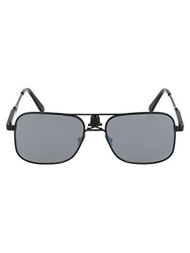 Philipp Plein Luxury Fashion Herren A18AMES0074PXV071 Schwarz Acetat Sonnenbrille | Jahreszeit Permanent