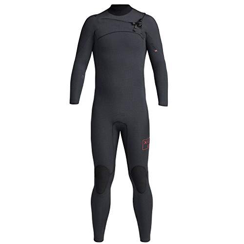 XCEL Traje de neopreno para hombre Comp-X TDC de 3/2 m de longitud completa, negro para hombre
