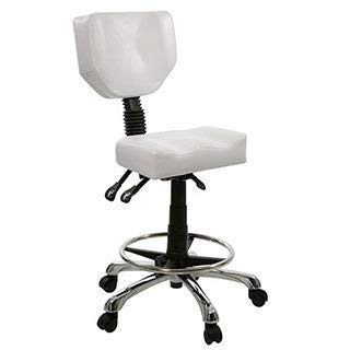 Ergonomic Hydraulic Esthetician Spa and Salon Chair. White color only