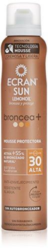 Ecran Mousse Protectora Broncea SPF30 Sonnenschutz Mousse für intensivere Bräune FPS30 200ml