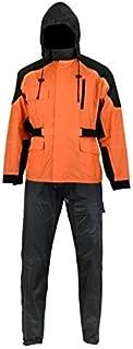 DS591OR Rain Suit (Orange) - Motorcycle Rain Gear 141[並行輸入]