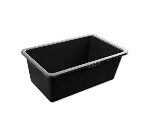 Mörtelwanne Mörtelkiste Mörtelkasten Zementkiste schwarz 63x34,5x19,5cm PVC KTKP40 BRADAS 0309