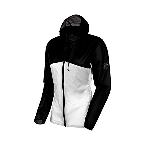 Mammut Damen Convey Windstopper Mit Kapuze, Black-Bright White, S