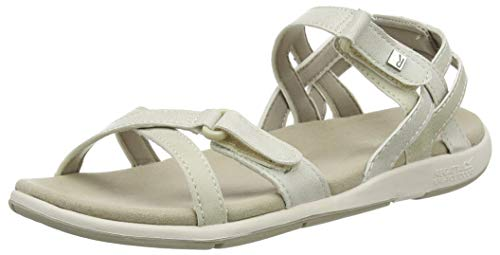 Regatta Damen Lady Santa Cruz Sandal, Natrl/WhiSnd, 36 EU