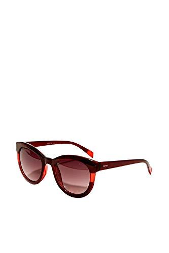 ESPRIT Sonnenbrille mit transparentem Streifen