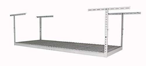 MonsterRax-3x8 Overhead Garage Storage Rack (White, 24'-45')