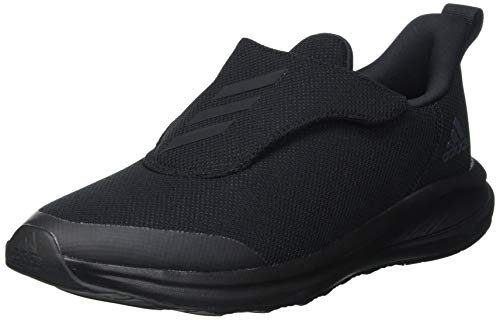 adidas Fortarun AC K, Scarpe da Corsa, Core Black/Core Black/DGH Solid Grey, 37 1/3 EU
