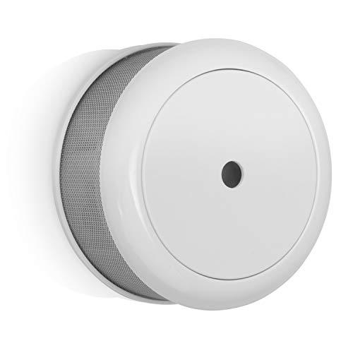 Smartwares Rauchmelder - Q-Qualitätssiegel, inklusiv 10 Jahres-Batterie