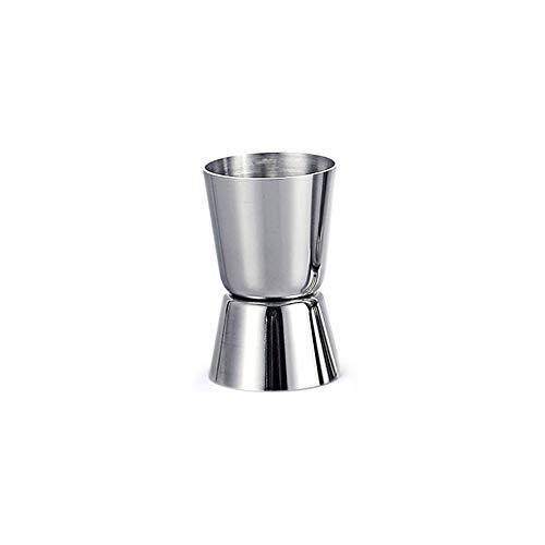 OTNE Edelstahl 20/30 ml Cocktail-Maß Jigger Dual Spirit Messbecher Peg Messbecher für Bar Party Wein Cocktail Drink Shaker