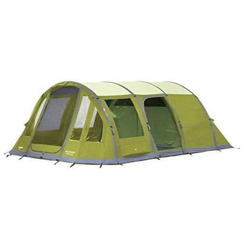 Vango Iris 600 XL Waterproof 6-Person Family Tent, Green, One Size