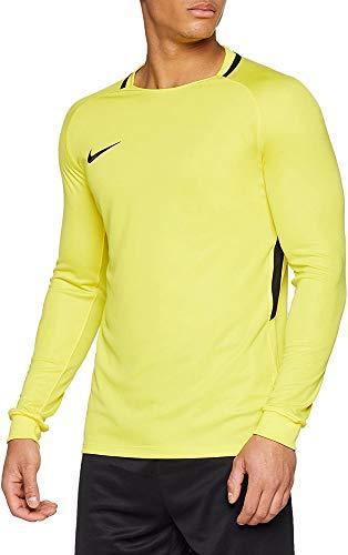 NIKE Men's Park III Football Jersey Long Sleeved t-Shirt, Hombre, Green Strike/Black/Black/(Black), M