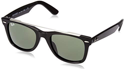 Ray-Ban 0rb4540f Gafas, Schwarz, 52 para Hombre