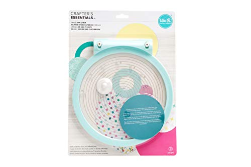 We R Memory Keepers Circle & Spin Trimmer Circle Spin & Trimmer, Multicolore, taille unique