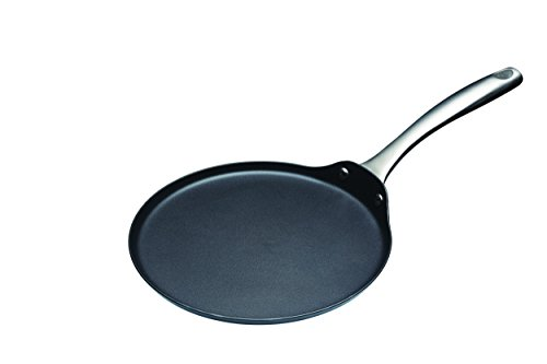 Kitchen Craft Master Class - Padella Professionale per crêpes, a induzione, Antiaderente, 24 cm